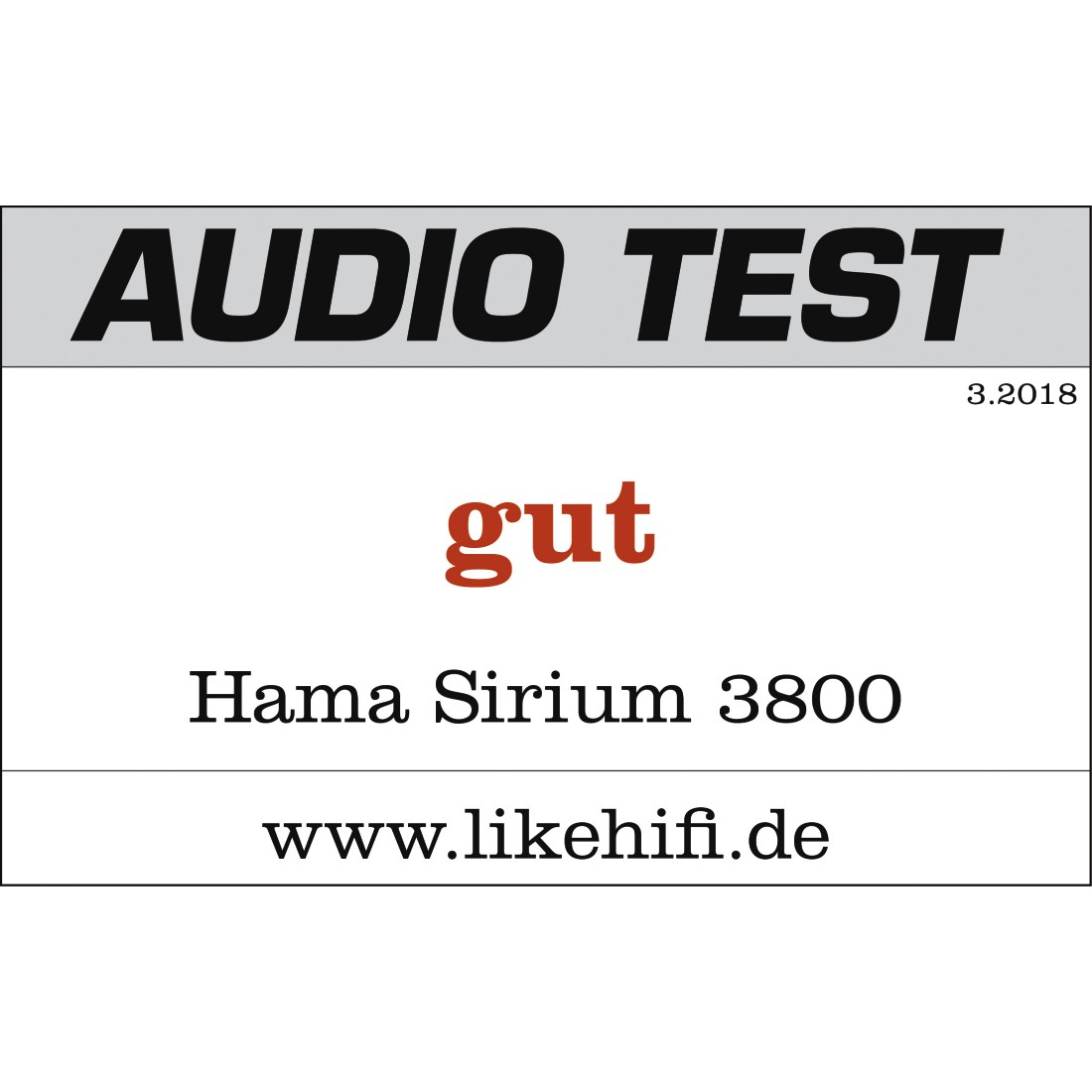 tex2 Druckfähiges Testurteil 2 - Hama, SIRIUM3800ABT Smart Sound Bar BT/ALEXA